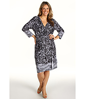 Tahari by ASL Plus - Plus Size Frankie Animal Print Matte Jersey Dress