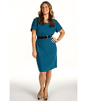 Tahari by ASL Plus - Plus Size Frankie Crepe Cap Sleeve Dress