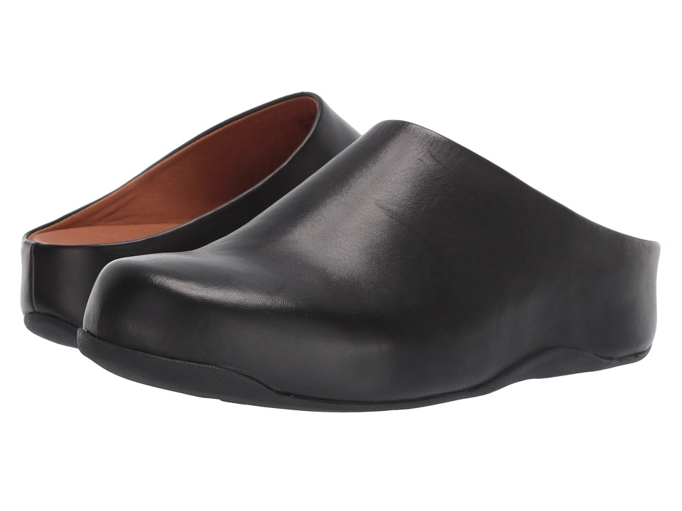 FitFlop Shuv Leather (Black) Women