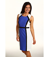 Calvin Klein - Petite Colorblock Sheath Dress