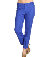Calvin Klein - Petite Cropped Trouser w/ Zipper Detail