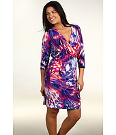 Calvin Klein - Plus Size 3/4 Sleeve Dress