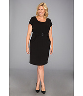 Calvin Klein - Plus Size Belted Dress