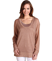 Calvin Klein - L/S Shimmer Scoop Neck Sweater