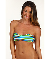 Diesel - Multi Strip Coral Bandeau Bikini Top