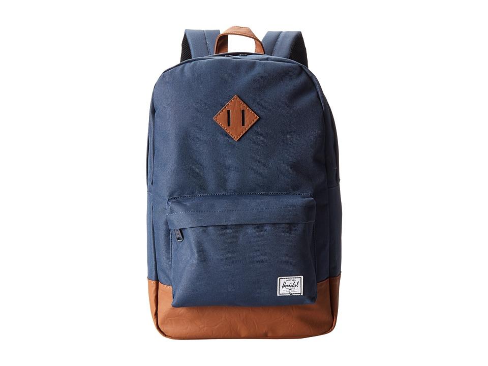 Herschel Supply Co. - Heritage (Navy/Tan) Backpack Bags