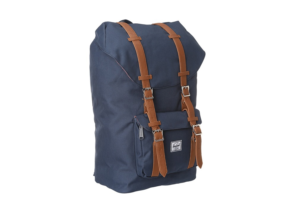 Herschel Supply Co. - Little America (Navy) Backpack Bags