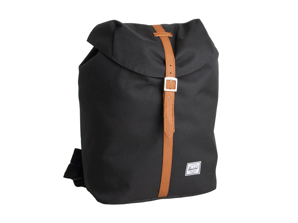 Herschel Supply Co. - Post (Black) Backpack Bags