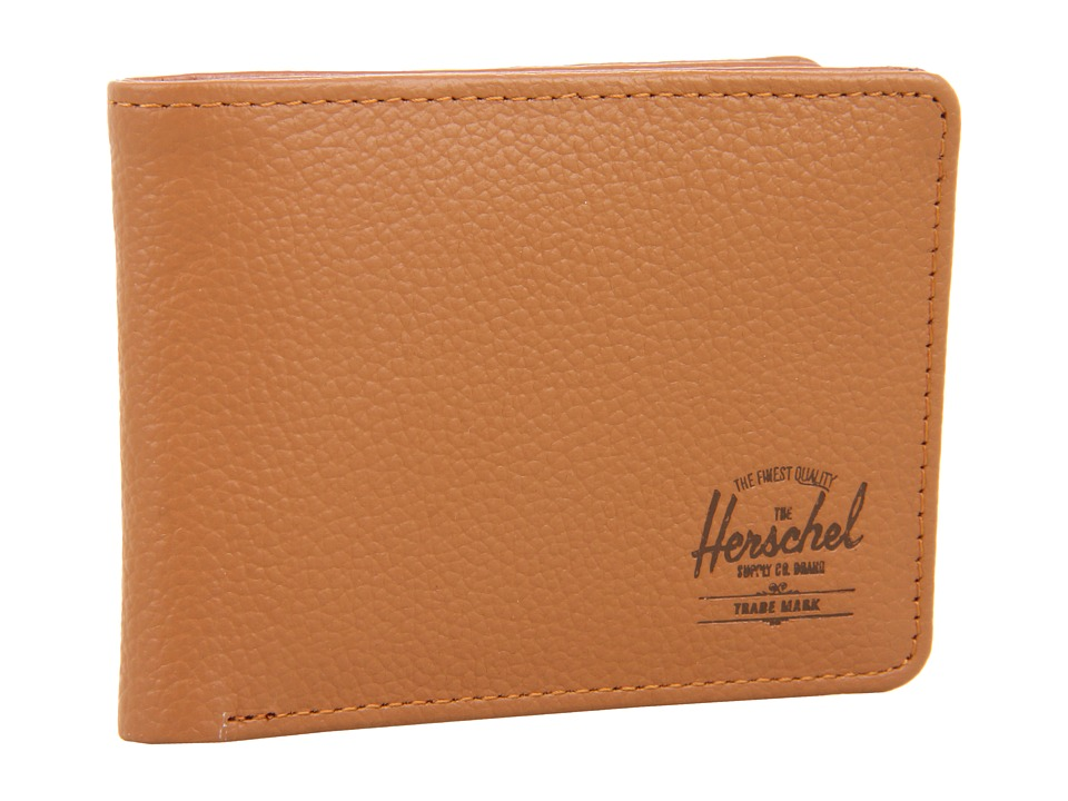Herschel Supply Co. - Hank Leather (Tan Pebble Leather) Wallet Handbags
