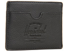 Herschel Supply Co. Charlie Leather (Black Pebble Leather)