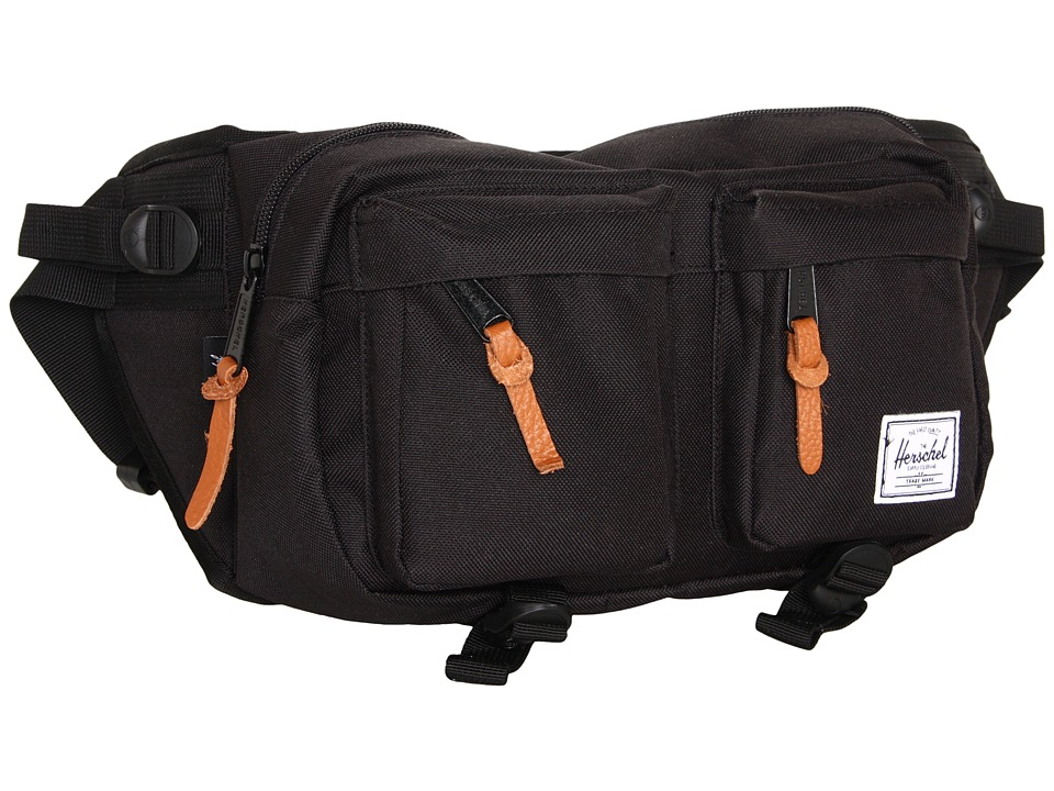 Herschel Supply Co. Eighteen Black Travel Pouch