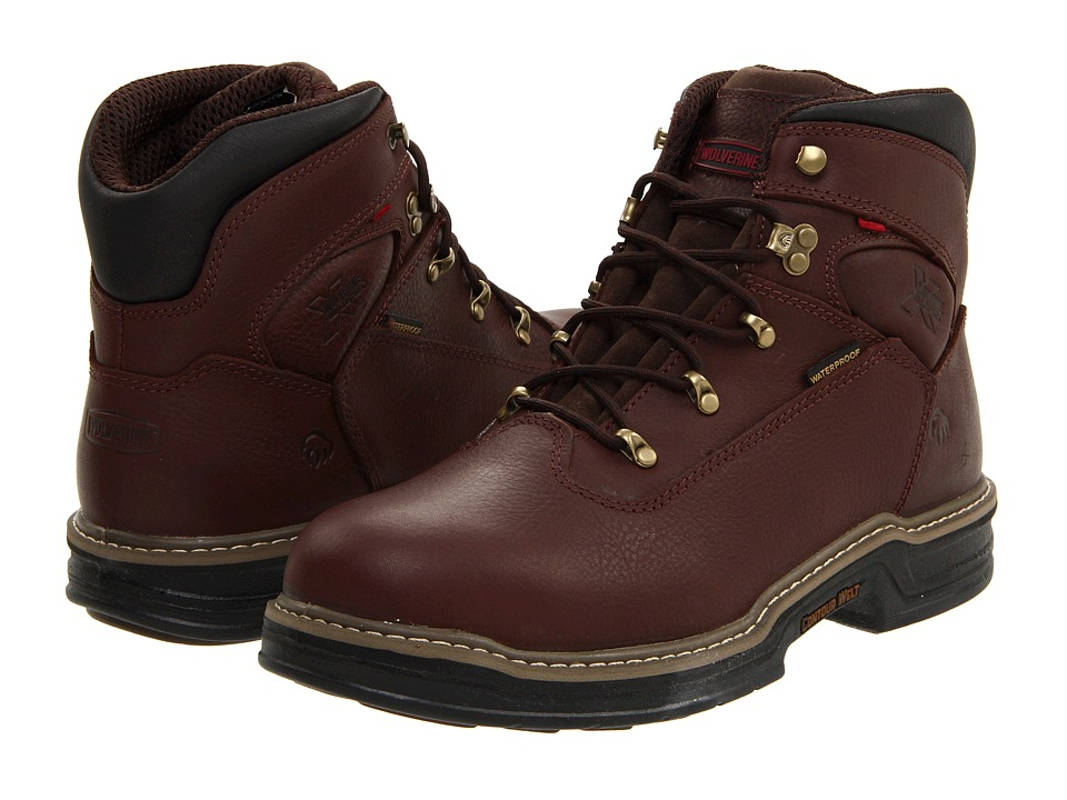 Wolverine Buccaneer MultiShox 6 Waterproof (Dark Brown) Men