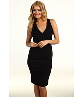 Nicole Miller - Jersey V-Neck Dress