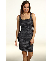 Nicole Miller - Metallic Crinkle Tank Tucked Dress