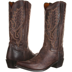 M1002 (Chocolate Madras Goat) Cowboy Boots