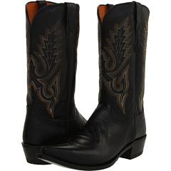 M1007 (Black Madras Goat) Cowboy Boots