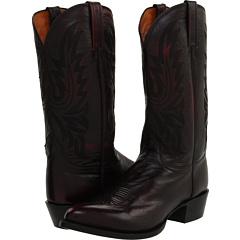 M1021 (Black Cherry Lonestar Calf Cowboy) Cowboy Boots