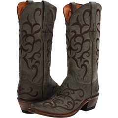 M5037 (Seagreen Madras Mad Dog Goat) Cowboy Boots