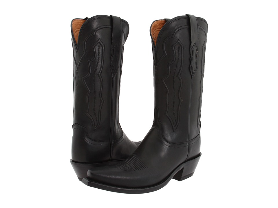 Lucchese M5006 (Black Ranch Hand) Cowboy Boots