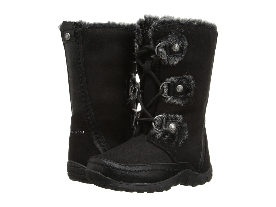 Nine West Kids Daffodill Toddler/Little Kid Black Girls Shoes
