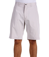 Callaway - Striped Flat Front Tech Short