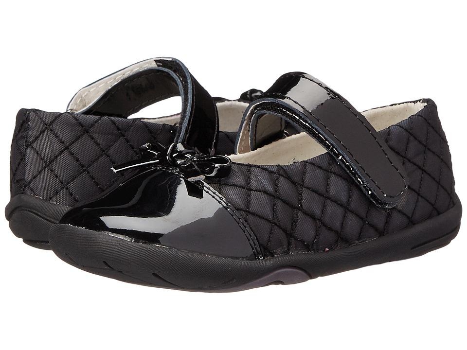 pediped Naomi Grip 'n' Go (Infant/Toddler) (Black) Girls Shoes