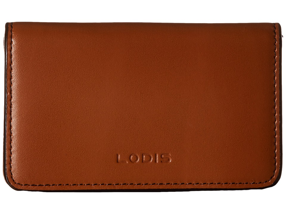 Lodis Accessories - Audrey Mini Card Case (Toffee) Credit card Wallet