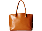 Lodis Accessories Audrey Milano Tote With Laptop Pocket (Toffee)