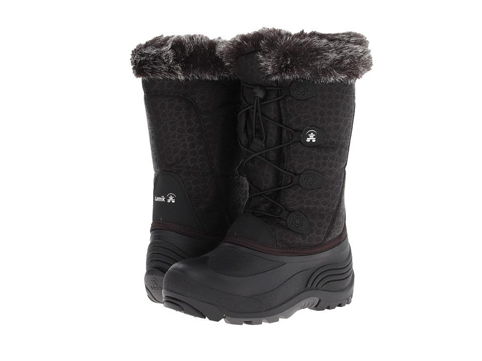Kamik Kids Snowgypsy Toddler/Little Kid/Big Kid Black Girls Shoes
