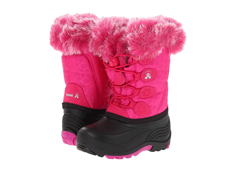 Kamik Kids Snowgypsy (Toddler/Little Kid/Big Kid) (Fuchsia) Girls Shoes