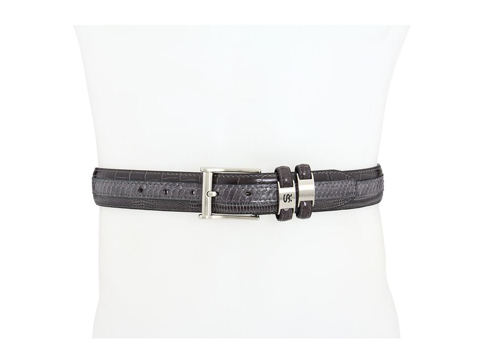 Stacy Adams 127 Grey Mens Belts