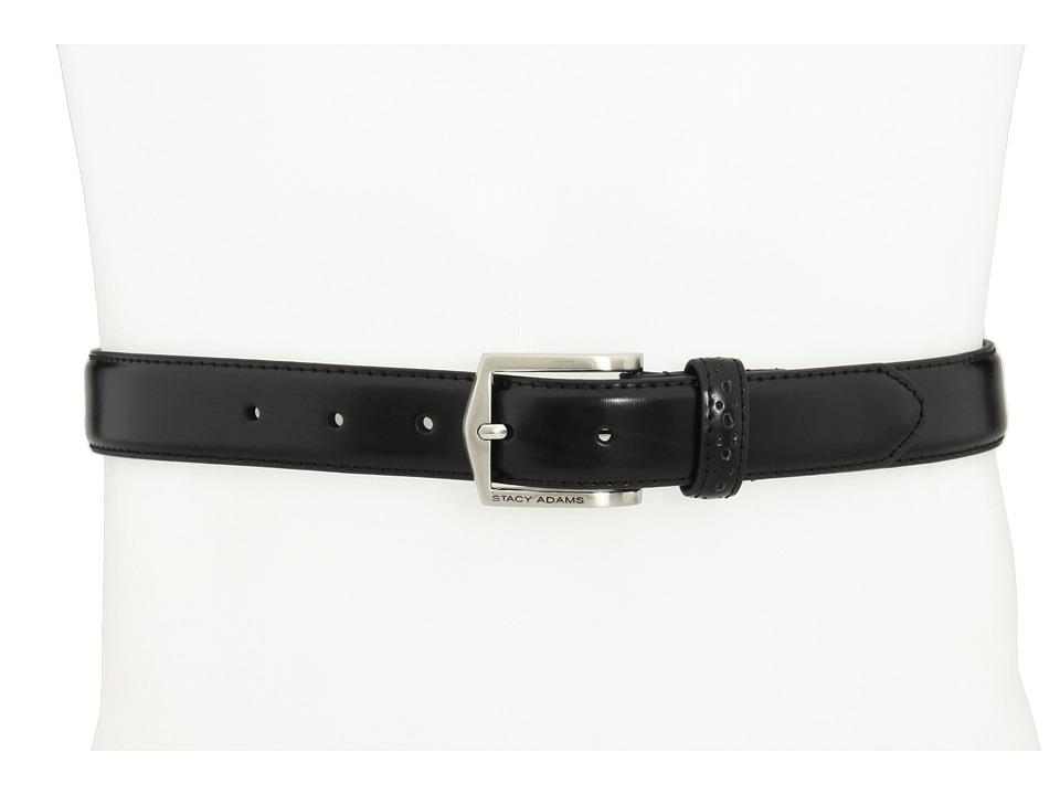 Stacy Adams - 087 (Black) Mens Belts