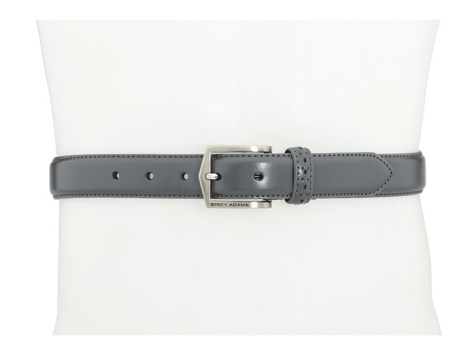 Stacy Adams 087 Grey Mens Belts