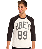 Obey - Triple Double Baseball Raglan Tee
