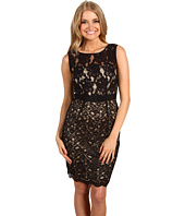 Jax - Scallop Edge Sleeveless Lace Dress