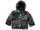 Quiksilver Kids - Shift Jacket (Toddler/Little Kids) (Stained Green Print) - Apparel