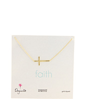 Dogeared Jewels - Faith Large Sideways Cross 18