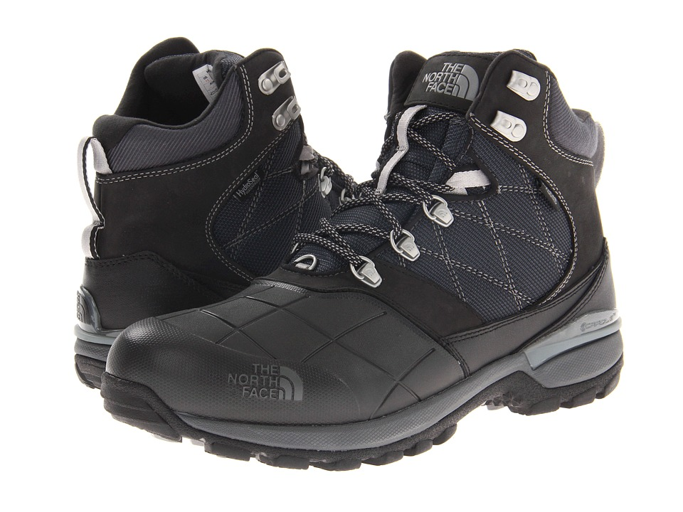 The North Face - Snowsquall Mid (TNF Black/Griffin Grey (Past Season)) Mens Cold Weather Boots