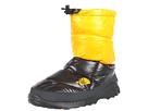 The North Face - Nuptse Bootie III (Shiny TNF Black/Shiny TNF Yellow) - Footwear