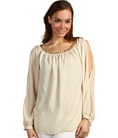 MICHAEL Michael Kors - Long Sleeve Peasant Blouse