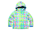 Roxy Kids - Jetty Girl Jacket (Big Kids) (Newport Gingham) - Apparel