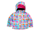 Roxy Kids - Mini Jetty 5K Insulated Jacket (Toddler/Little Kids) (Newport Gingham) - Apparel