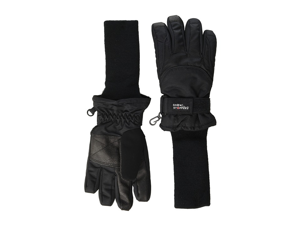 Tundra Boots Kids Snowstoppers Gloves Black Extreme Cold Weather Gloves