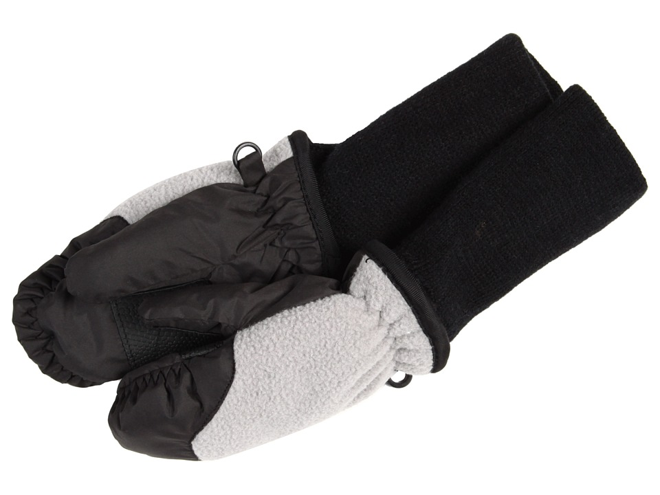 Tundra Boots Kids Snowstoppers Fleece Mittens (Grey) Extreme Cold Weather Gloves