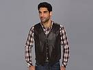 Roper - Lamb Skin Western Vest with Yokes