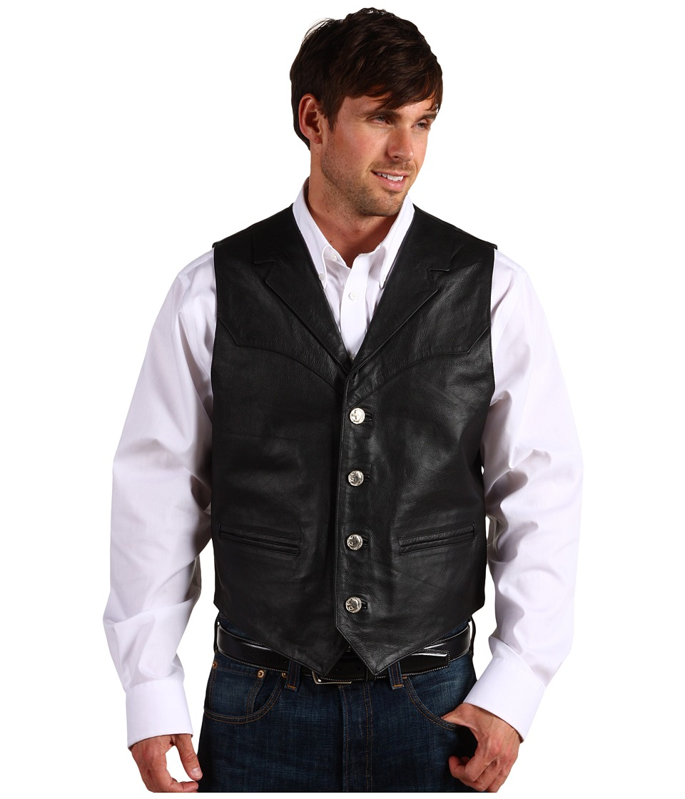 Roper - Nappa Notch Collar Vest