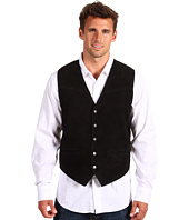 Roper - Men's Suede Vest with Buckle Back