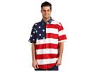 Roper Stars Stripes Pieced Flag Shirt S/S
