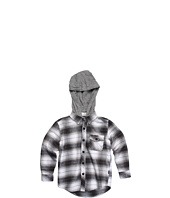O'Neill Kids - Grizzly L/S Flannel Shirt w/ Hood (Little Kids)