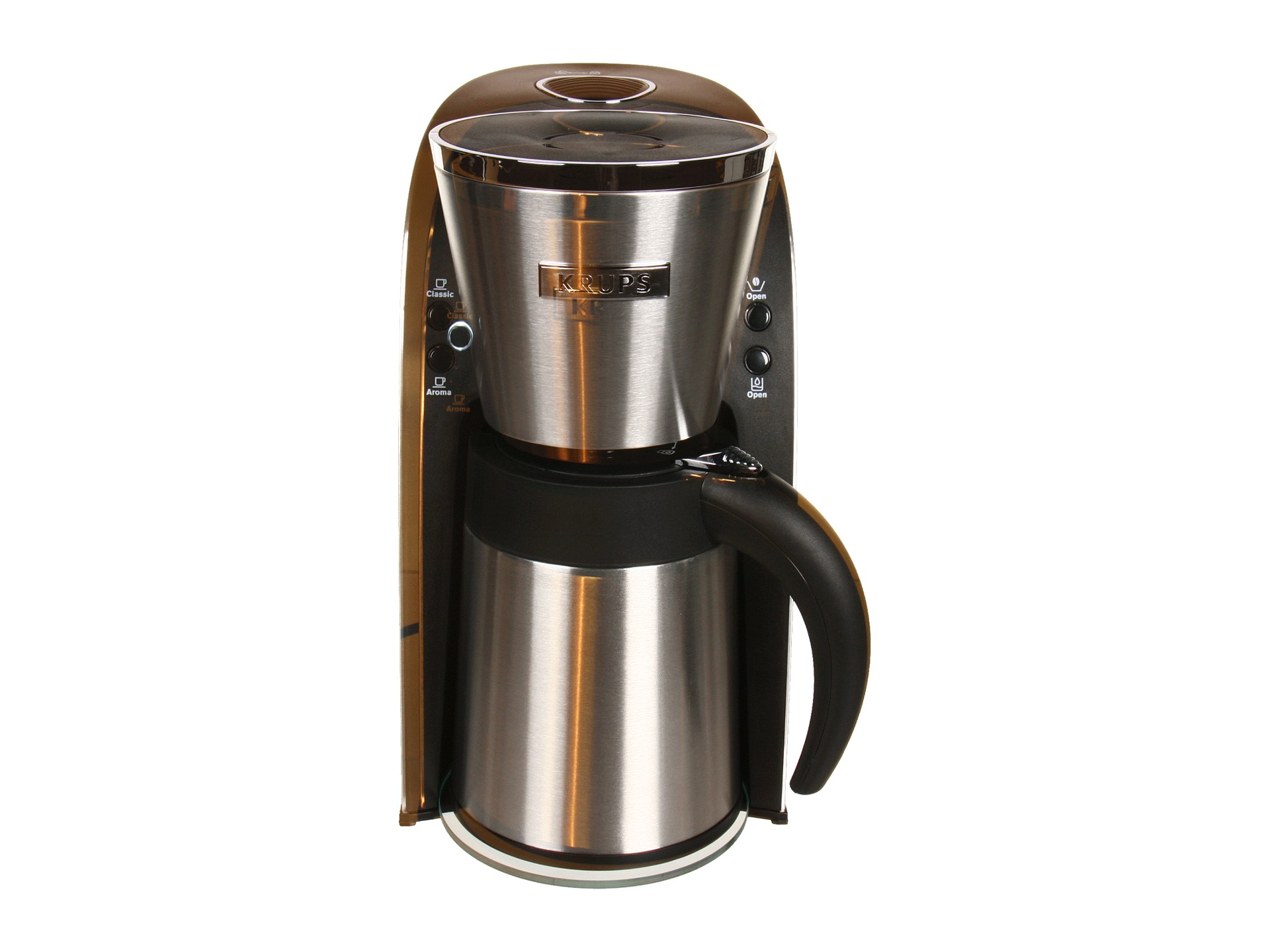 Krups Kt720d50 10 Cup Thermal Filter Coffee Maker Shipped Free at Zappos